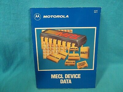 Motorola Mecl Device Data Reference Book 1989