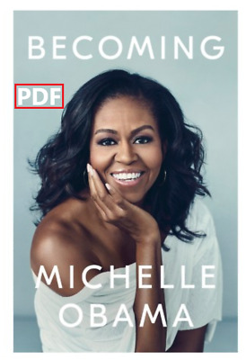 'Becoming - By 'Michelle Obama ⚡FAST DELIVERY⚡ (P .D .F)