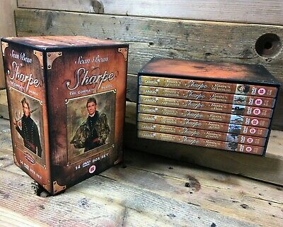 Sharpe - Complete Feature Length Series Collection (DVD, 2002, 14-Disc Box Set)