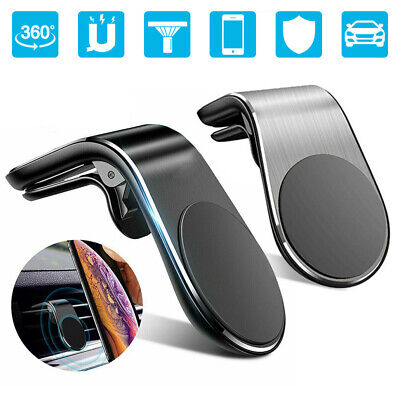 Universal Magnetic Phone Holder Clip Car Air Vent Bracket for Mobile Phones GPS