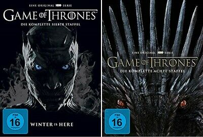 Game of Thrones Staffel 7+8 DVD Set NEU OVP