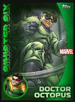 Topps Marvel Collect Green Reserve Doctor Octopus (Digital)