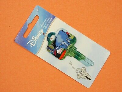 1-Disney Eeyore-Have You Seen My Tail Key Sc1 5-Pins Uncut For Schlage Locks