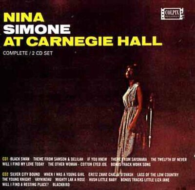 Nina Simone At Carnegie Hall -  CD 8WVG The Cheap Fast Free Post The Cheap Fast