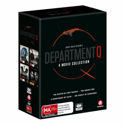 Department Q Box Set DVD NEW (Region 4 Australia)