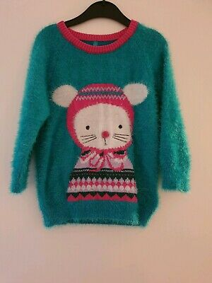 M&S Girls Winter Jumper & Trousers 4-5 Years