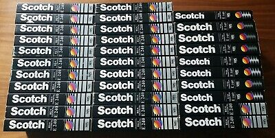 VHS Video Tapes 32× Scotch EG+ Extra Grade Plus  E240 240 Minute 4 hour  Used.