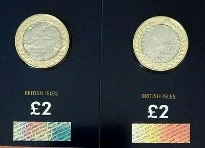 2018 Isle of Man TT Race  Mike Hailwood Bu £2 Coin Set