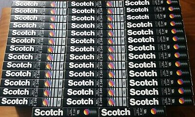 VHS Video Tapes 41× Scotch EG+ Extra Grade Plus  E240 240 Minute 4 hour  Used.