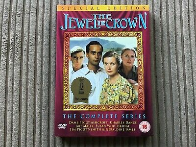 The Jewel In The Crown The Complete Series Dvd Special Edition