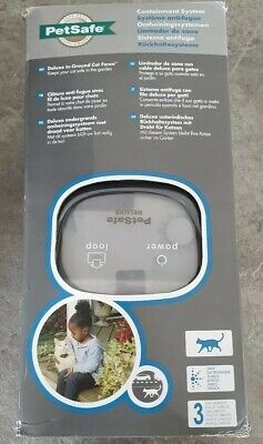 PetSafe Deluxe In-Ground Cat Fence System Radio Containment Control PCF-1000-20