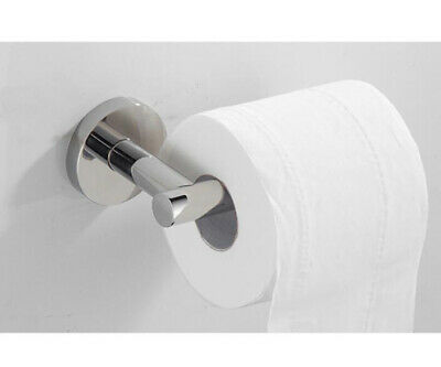 SUS Toilet Roll Paper Holder Single Bar Bathroom Accessories Hanger Wall Mounted