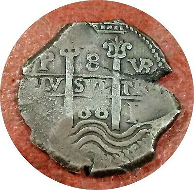 Bolivia ~ Potosi ~ 1688-Vr Cob 8 Reales ~ Two Dates, 3 Mintmarks, Two Assayers