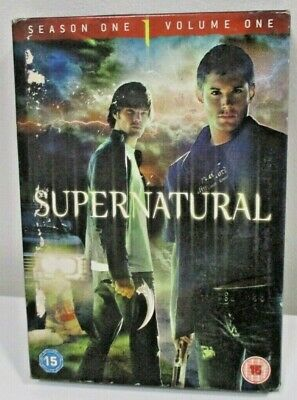 Supernatural Season 1 DVD Volume 1 - Episodes 1 - 11