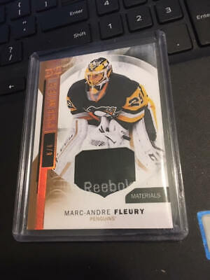 2015-16 UD Premier Marc-Andre Fleury Tag Materials Patch SP 6/6 Penguins!!!!!