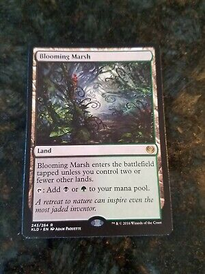 MRM FRENCH Marécage bourgeonnant Blooming Marsh MTG magic KLD