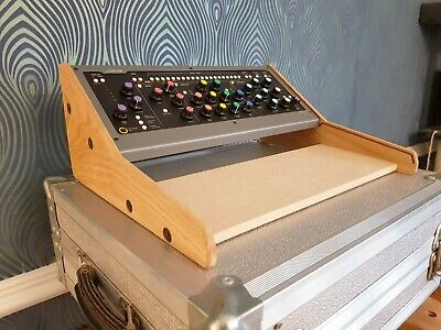 Solid Oak Wooden Dual Stand For Softube Console 1 And Fader