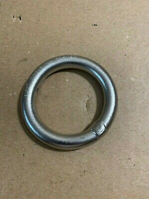 Stainless Steel 316 Round Ring Welded 1/2'' 12mm RMS050