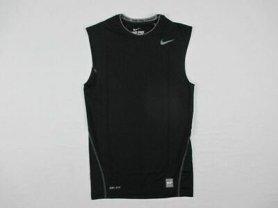 NEW Nike - Men's Sleeveless Black Compression Shirt (Multiple Sizes)