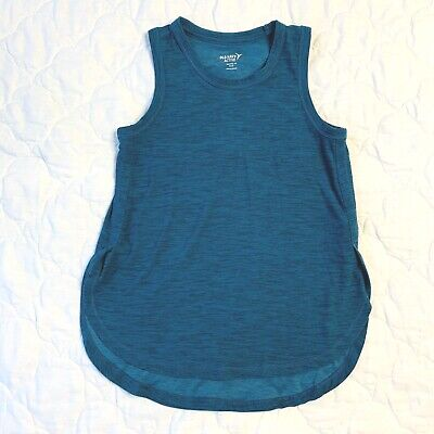 Old Navy Girls Green Size 8 Tank Top Shirt Active Runner Cross Country