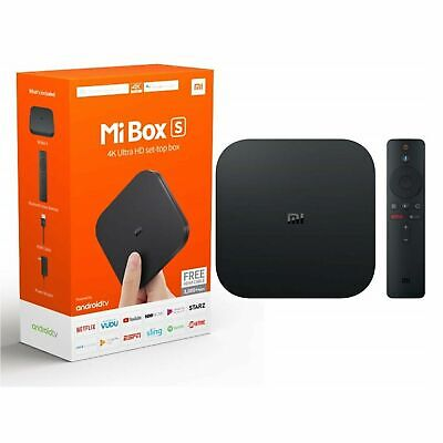 Xiaomi MI BOX S Android 8.1 Smart 4K Mi TV Box HDR Google Cast Global Version