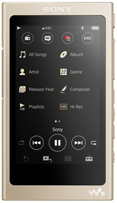 Sony NW-A45 3.1 Inch Touch Display High Resolution Audio Walkman 16 GB, 45 Hours