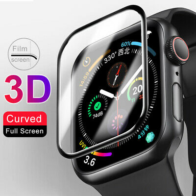 For Apple Watch Series 5 4 3 2 Tempered Glass Screen Protector iWatch 38 40 44mm