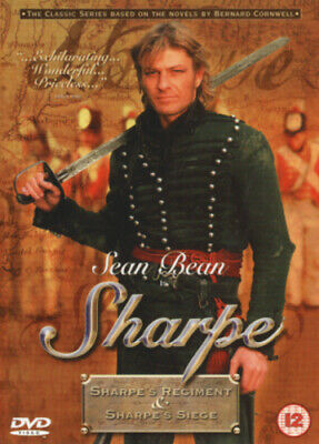 Sharpe's Regiment/Sharpe's Seige DVD (2002) Sean Bean, Clegg (DIR) cert 12