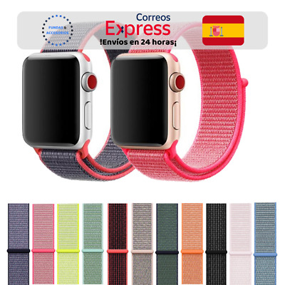 Correa Nylon en 14 colores - Apple Watch Series 1/2/3/4/5 iWatch