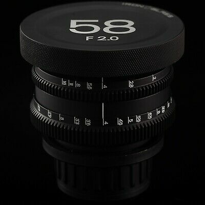 Rehoused Helios 44-2 58mm F2 Prime Cine Edition lens Full Frame with PL mount