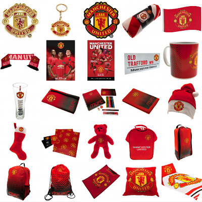 MANCHESTER UNITED Man Utd Gift Official Merchandise Birthday Christmas Gift