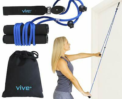 Vive Shoulder Pulley - Over Door Physiotherapy Rehab Rope Exerciser for Rotator