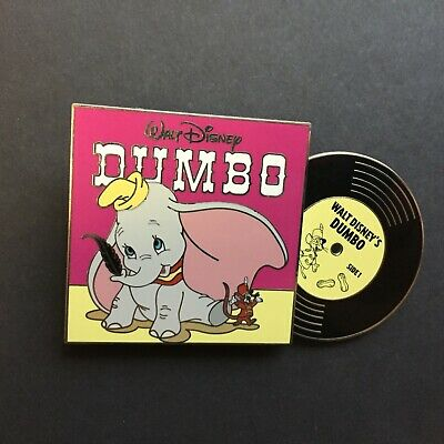 Vintage Vinyl - Pin of the Month - Dumbo - LE 3000 Disney Pin 132084