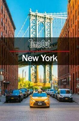 Time Out New York City Guide Travel Guide with Pull-out Map 9781780592701