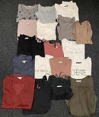 📦 KLEIDERPAKET Damen Jeans T-Shirt Bluse Hemd Business Only Zara Reserved H&M