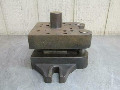 "Danly 0606 ?? Punch Press Precision Back Post Die Set Shoe 6"" x 6"" #1"