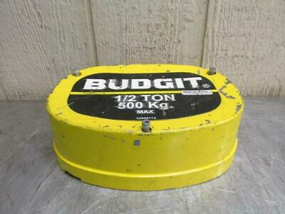 Budgit 32908774 Electric Chain Hoist End Cap Cover 1/2 Ton 1000 Lbs w/bolts