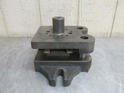 "Danly ?? Punch Press Precision Back Post Die Set 6-1/2"" x 5-1/2"""
