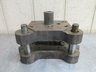 "Danly 0705 ?? Punch Press Precision Back Post Die Set 7"" x 4-3/4"""