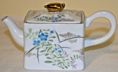 Small Porcelain Teapot Collection Kyoto Victoria & Albert Museum Franklin Mint