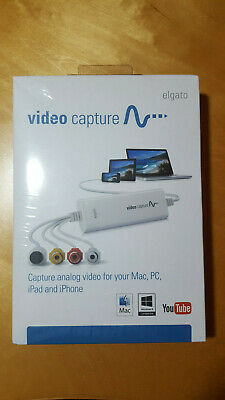 Capturadora MAC y Windows USB elgato videocapturer NUEVO precintado