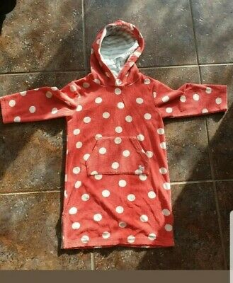 Mini Boden girls towelling cover up 4-5 Years