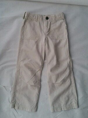Burberry Boy casual LIGHT Stone Casual Trousers Pants Size 5 6 years NEW