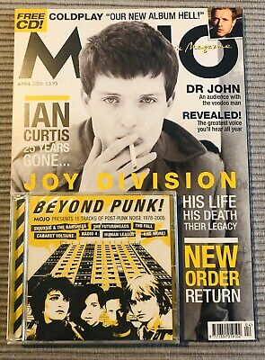 MOJO Magazine 2005 Joy Division New Order & Unopened Cd