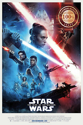 New The Rise Of Skywalker Star Wars Official Cinema Movie Print Premium Poster
