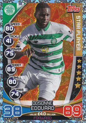 TOPPS MATCH ATTAX SPFL 2019-20 - Odsonne Edouard - Celtic - # 36 - STAR PLAYER