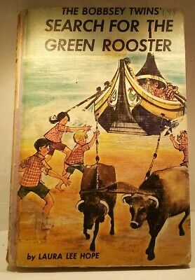 The Bobbsey Twins' Search for the Green Rooster: Vintage Hardback