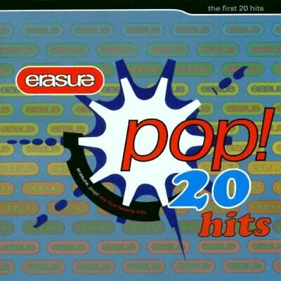 Erasure - Pop! - The First 20 Hits - Erasure CD J3LN The Cheap Fast Free Post