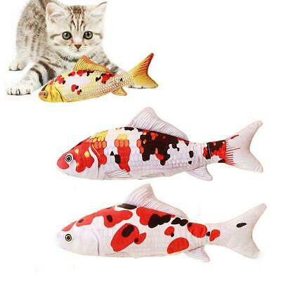 Creative Catnip Stuffed Fish Interactive Kitten Chewing Toy Product Cat Supplies