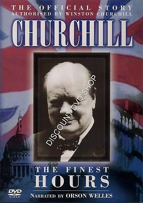 Churchill The Finest Hours. The Official Story. New Cellophane Wrapped Dvd